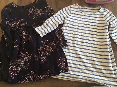 Girls Age 4-5 Winter Dress Bundle, MUJI And Dunne's Stores