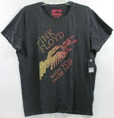 Lucky Brand Pink Floyd Wish You Here Faded Black Womens T-Shirt Tee Band Concert