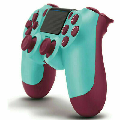 Wireless Bluetooth Gamepad Controller for PS4 PlayStation 4 Consoles Berry Blue