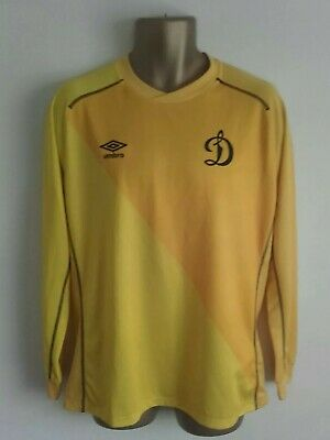 Rare Dynamo Moscow Umbro L/S Football Shirt Yellow away or Goalkeepers ?