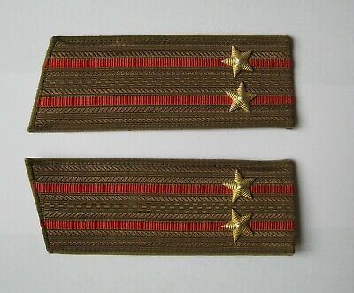Soviet Army Military Shoulder Strap Y-shape Canvas Impegnated New Old Stock
