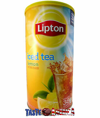 Lipton Iced Tea Lemon Flavour Drink Mix Makes 38 Quart 2.54 kg