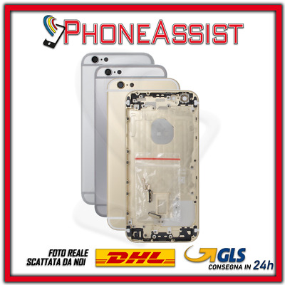 TELAIO SCOCCA POSTERIORE Per Apple iPhone 6 6G BACK COVER MIDDLE HOUSING