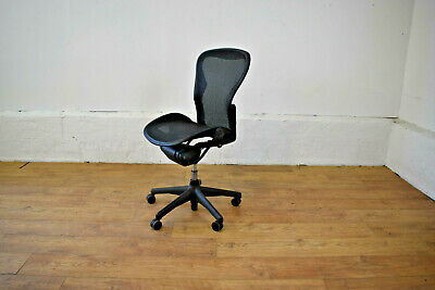 Herman Miller Aeron Ergonomic Office Chair Size B - No Arms - Free Shipping