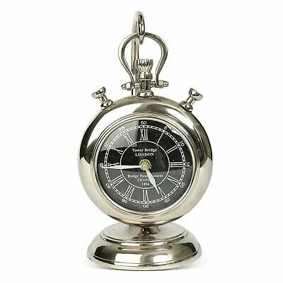 Culinary Concepts Desktop Pocket Watch With Stand Silver/Nickel Glass EX DISPLAY