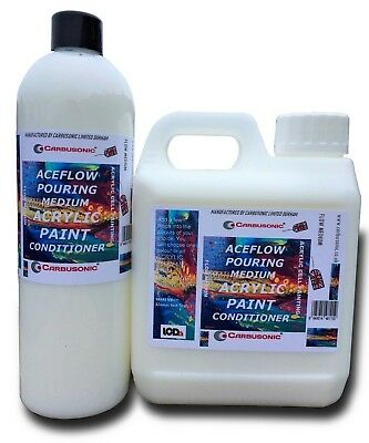 Paint Conditioner Acrylic Pour Flow Control Paint Levelling Agent 100 ML