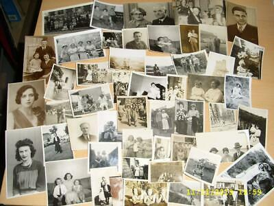 Large Collection Of Old Photographs - All  People Lot F