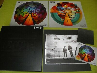 Muse - The Resistance 2LP CD 2DVD Memory Stick Limited Numbered (440) Box EX/NM