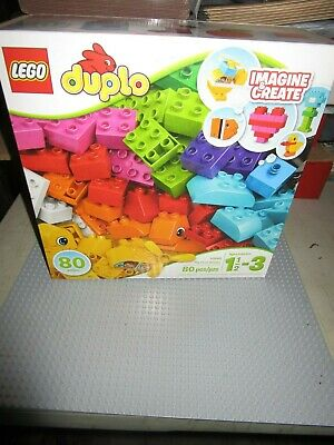 Brand New Lego Duplo My First Bricks Set--10848--80 Pieces--Sealed