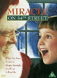 Miracle On 34th Street (DVD) Richard Attenborough, Mara Wilson cert U