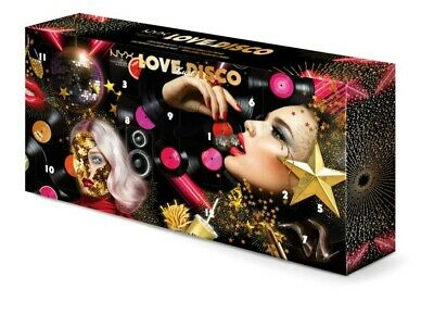 NYX Professional Makeup Love Lust & Disco 12 Day Advent Calendar Christmas Gift