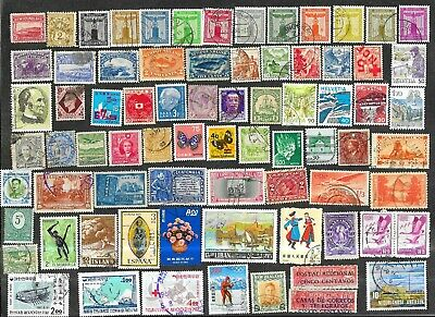 Worldwide Used/Mint Stamps & Pictorials B9
