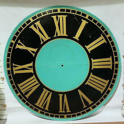 Large Round Antique Clock Dial