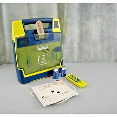 Cardiac Science G3 AED Training Defibrillator- Remote Controller -set of pads