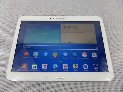 Samsung Galaxy Tab 3 White 16GB Tablet GT-P5210 10.1'' Screen Android 4.2.2 Used