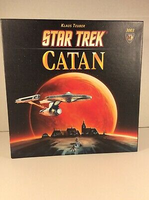 Star Trek Catan Board Game Complete IOB Excellent Condition 3003 Klaus Teuber