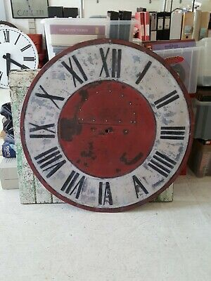 Round Continental Turret Clock Dial