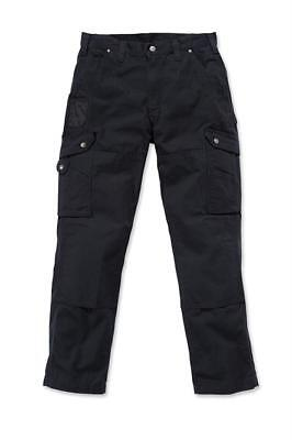 Carhartt Workwear B342 Ripstop Cargo Trousers Pant Black Man Work W32/L34