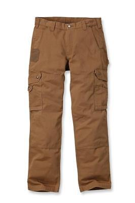 Carhartt Workwear B342 Ripstop Cargo Trousers Pant Brown Man Work W40/L34