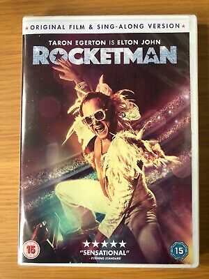 ROCKETMAN DVD (2019) New And Sesled