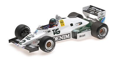 Williams ford fw08c jacques laffite 1983 minichamps 1/18