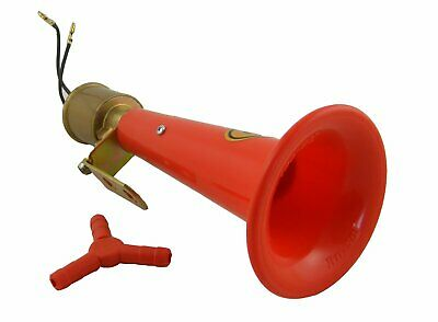 24V Wolf Whistle Air Horn Truck Trucker Lorry 130dB