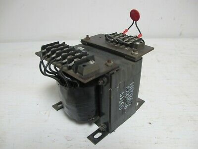 Exide SCR24-1-12 Battery Charger Hitran Transformer AAO656 S1160 AA0656 Trans