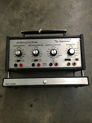 Sencore 'The Substitutor' RC 167 Decade Resistance and Capacitance Box