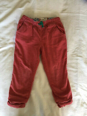 Mini boden Girls Cord Trousers Age 4