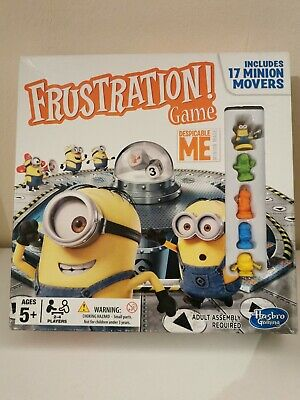 Minions Frustration Despicable Me Edition Hasbro Family Board Game 100%Complete