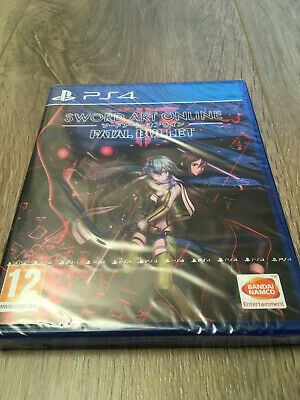 SWORD ART ONLINE - FATAL BULLET PS4 Playstation4 - NEUF sous blister