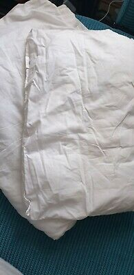 Cotbed bedding Duvet And Pillow Used