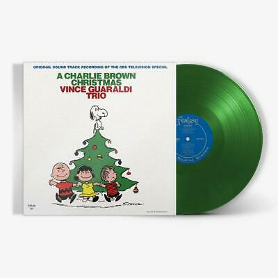 Charlie Brown Christmas **Vince Guaraldi Trio **NEW GREEN RECORD VINYL LP