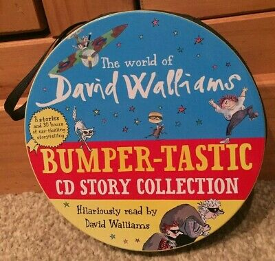 The World Of David Walliams Bumper-tastic CD Story Collection Audio Books