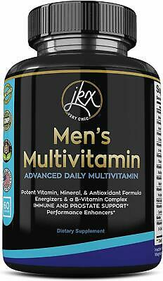 Men's Advanced Daily Multimineral Multivitamin Supplement 60ct