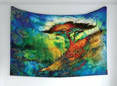 Nature Tapestry Mystical Northern Lights Print Wall Hanging Decor 60Wx40L Inches