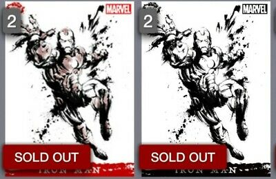 Topps Marvel Collect - Iron Man Splash Painting Fusions