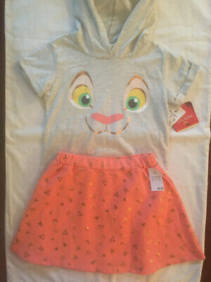 The Lion King Girls 5T Disney Outfit NWT
