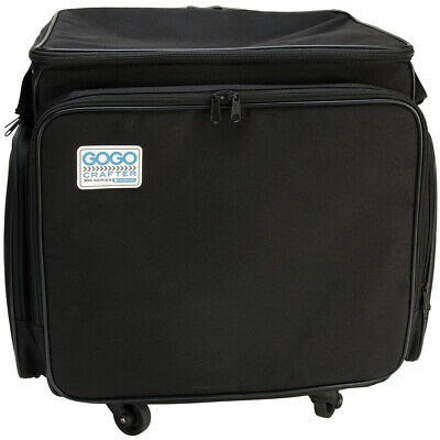 GOGO 300 Crafter Rolling Tote-Black