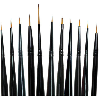 Majestic Detail Brush Set-11/Pkg