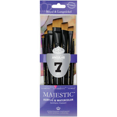 Majestic Angular Brush Set-7/Pkg