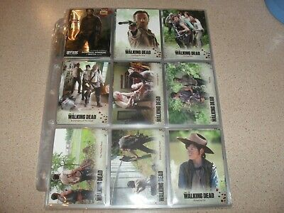 The WALKING DEAD - season 3 part 1 trading card base set