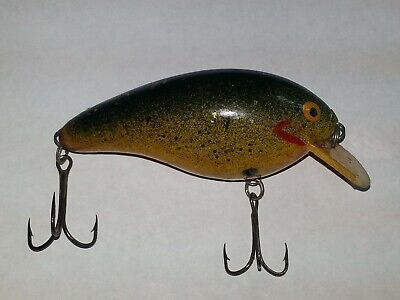 Fred Young Fishing Lure, (Hand Carved) Serial No. 176 Big-O Early No.