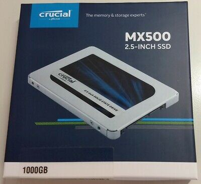 "1TB SSD Crucial MX500 2.5"" SATA 7mm Internal 560MB/s (1000GB) - CT1000MX500SSD1"