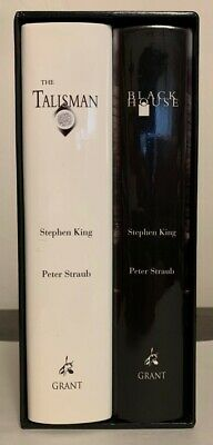 THE TALISMAN (signed) AND BLACK HOUSE by Stephen King and Peter Straub slipcased
