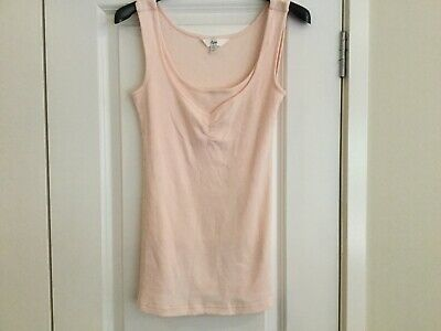 RIPE Maternity Nursing Top Light PINK XS. Excellent Used Condition.