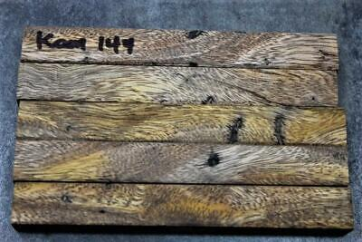 Hawaiian Spalted Kamani Pen Blanks/ Razor Handles/Wood Carving#144