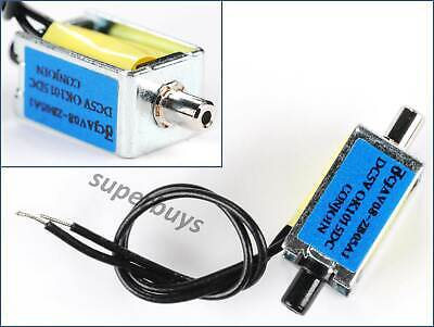 12V DC Mini Small Solenoid Snuffle Valve Gas Air Pneumatic Normally Closed Tap