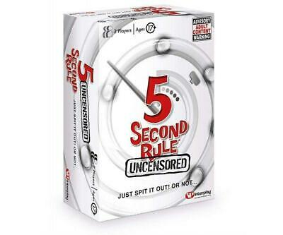 5 Second Rule Uncensored, GF004 Card Game (Adult)-GF004