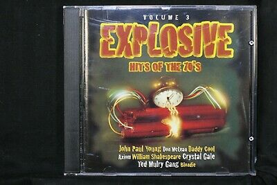 Explosive Hits Of The 70's Volume 3 - Daddy Cool, Ted Mulry Gang - CD (C908)